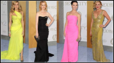 SEX AND THE CITY 2 NYC PREMIERE: WHO WORE WHAT FASHION REPORT