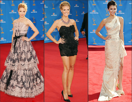 Emmy Awards 2010 red carpet fashion: Who Wore What