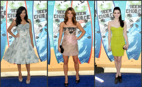 Teen Choice Awards 2010: Red Carpet Fashion (Who Wore What)