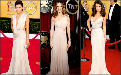 SAG AWARDS 2011 RED CARPET FASHION