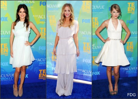 Teen Choice Awards 2011 red carpet fashion: Who Wore What