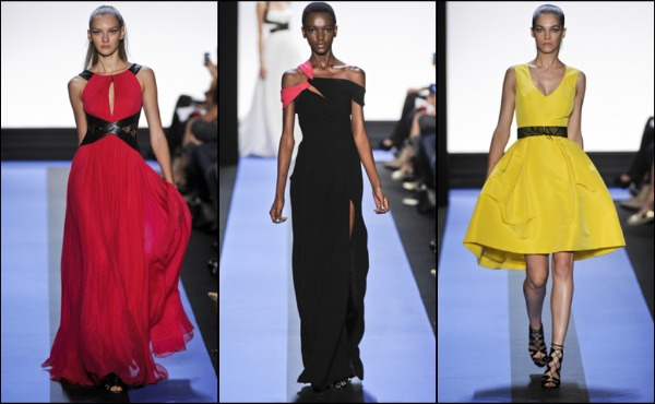 NY Fashion Week Spring 2012: Monique Lhuillier runway review