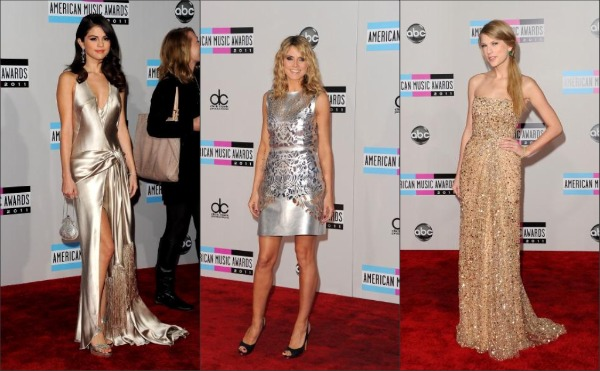 American Music Awards 2011 red carpet fashion: Best Dressed