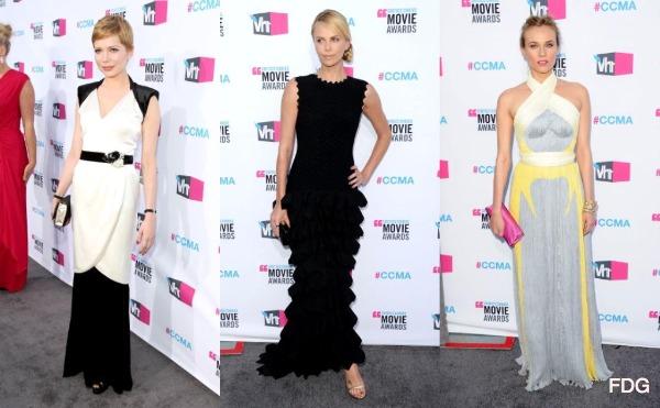 Critics' Choice Awards 2012 red carpet fashion: Best Dressed