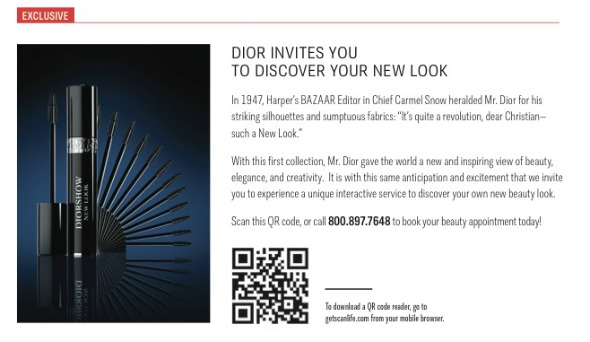 Dior invites you to discover your New Look at Macy's