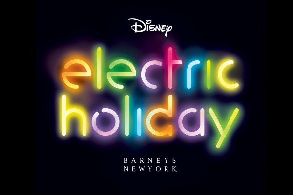 Barneys New York taps Walt Disney for 3D Electric Holiday campaign