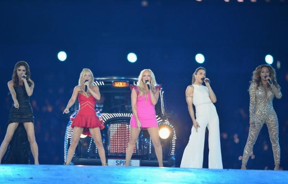 Spice Girls go posh at the Olympic closing ceremonies