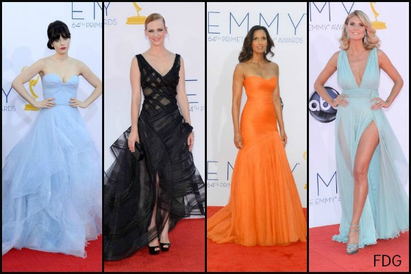 Emmy Awards 2012 red carpet arrivals: The complete fashion breakdown