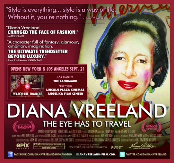 Diana Vreeland The Eye Has To Travel celebrates the life of a true fashion icon