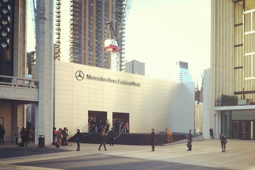 Mercedes-Benz Fashion Week will live stream every fashion show from Lincoln Center for first time ever