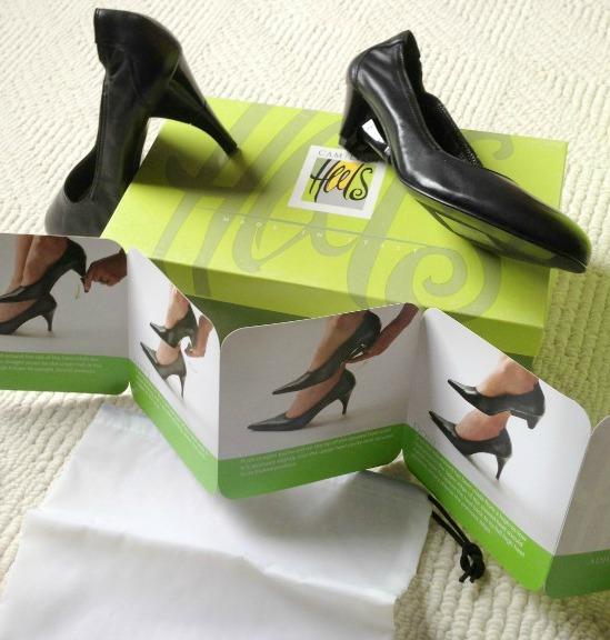 Camileon Heels revolutionary concept changes heel height on the go