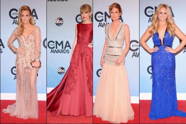 CMA Awards 2013 red carpet fashion: Best Dressed