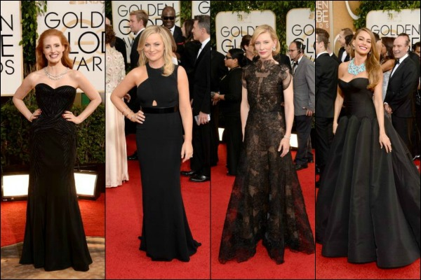 Golden Globes 2014 red carpet fashion: Who Wore What