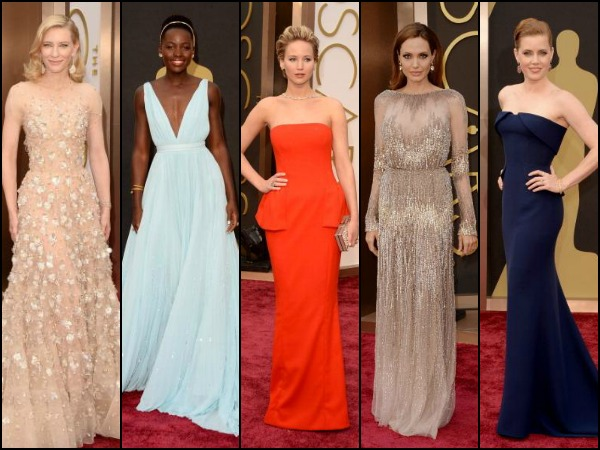 Oscars 2014: Top Ten Best Dressed Celebrities On The Red Carpet