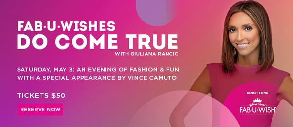 Giuliana Rancic to host fashion show for Fab-U-Wish at Westfield Mall