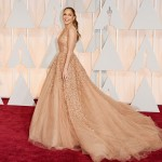 Jennifer Lopez attends the 87th Annual Academy Awards