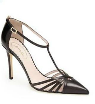 "The ""Carrie"" shoe in black ($355)"