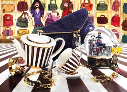 HENRI BENDEL COLLABORATES WITH SWAROVSKI CRYSTAL TO SPARKLE AND SHINE