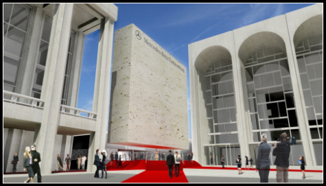 UNVEILED:  PLANS FOR MERCEDES-BENZ FASHION WEEK AT LINCOLN CENTER