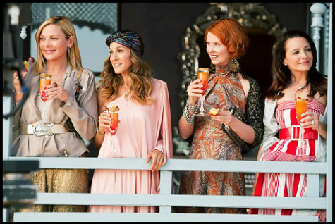 satc 2 cast. The ladies of Sex and the City are back and they are sexier ...
