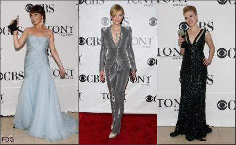 Tony Awards 2010 red carpet fashion: What the stars wore