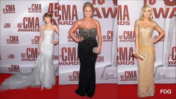 CMA Awards 2011 Red Carpet Fashion: Who Wore What