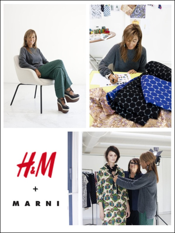 Marni designs spring collection for H&M
