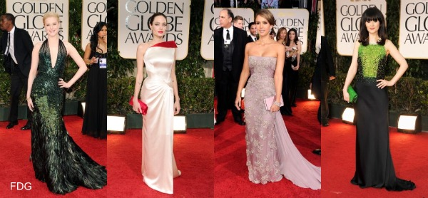 Golden Globe Awards 2012 red carpet fashion: The fashion breakdown