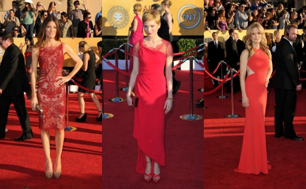 SAG Awards 2012 red carpet fashion: Who Wore What