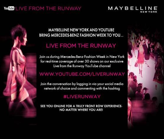 NY Fashion Week Fall 2012 goes digital: Live stream schedule