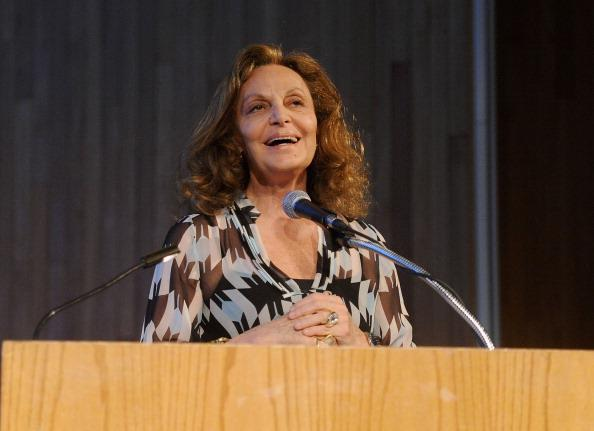 Diane von Furstenberg: Speaks about making an impact on fashion