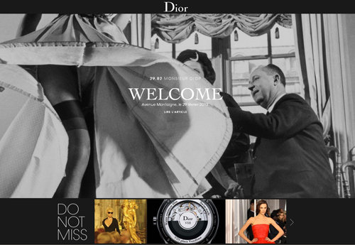 Christian Dior launches online magazine DiorMag