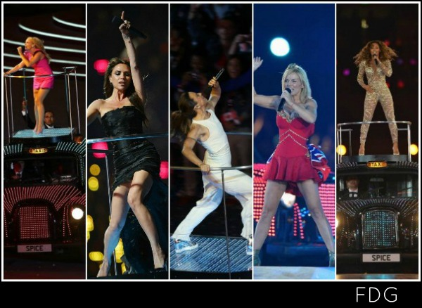 Spice Girls at the Olympics: The fashion breakdown