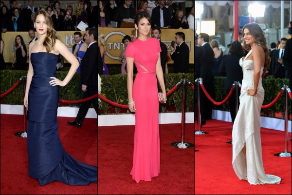 SAG Awards 2013 Red Carpet Fashion: Best Dressed
