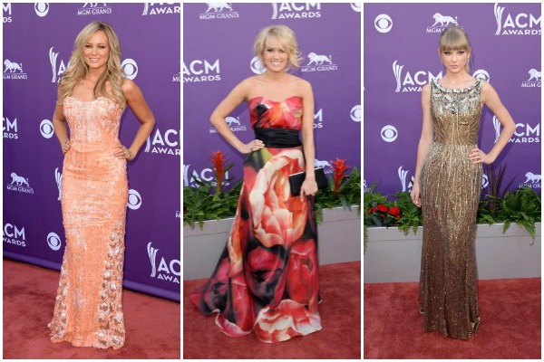 ACM Awards Red Carpet 2013 Fashion Breakdown: Who Wore What |