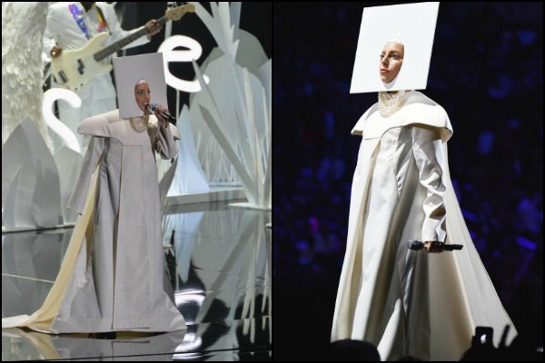 Applause for Lady Gaga's five costume changes opening the 2013 VMA's