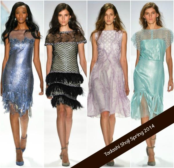 Tadashi Shoji Spring 2014 RTW at NY Fashion Week