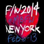 MBFW Fall 2014 Schedule NYFW