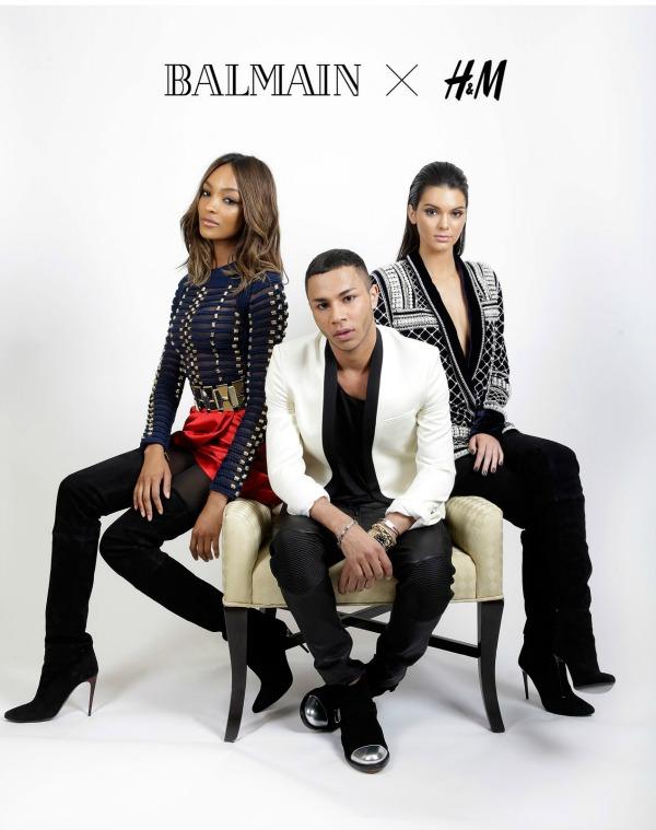 H&M announces Fall collaboration with Balmain