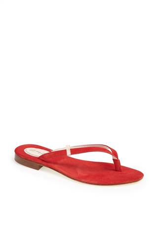 "The ""Cherry"" flip-flop in red (alt="