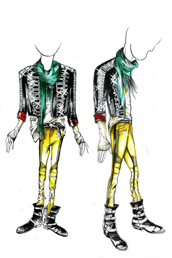 A Balmain sketch for Goofy